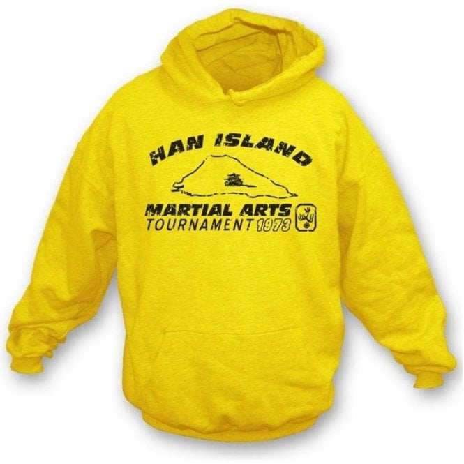 Han Island (Inspired by Enter the Dragon) Hooded Sweatshirt