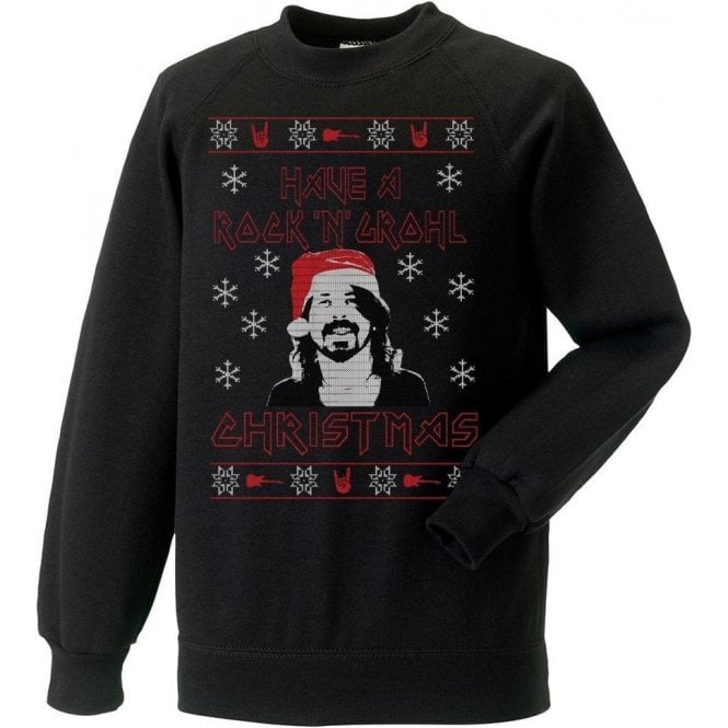 Have A Rock & Grohl Christmas Kids Jumper