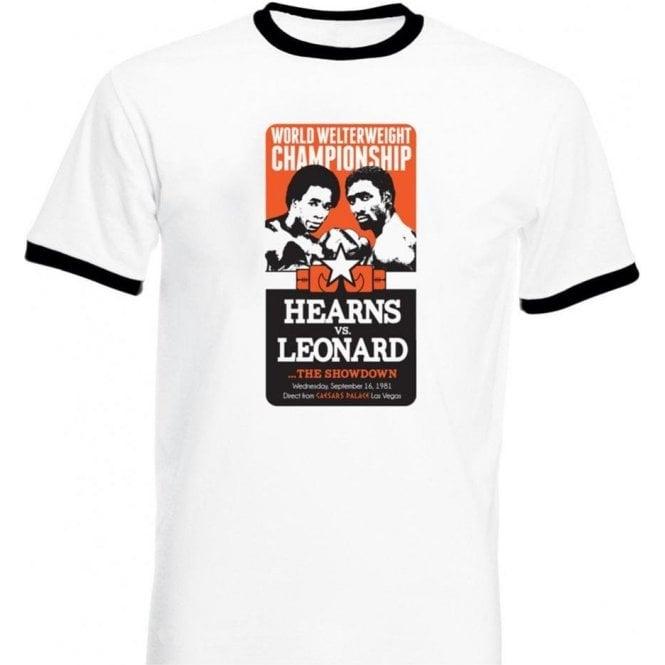 Hearns vs. Leonard: The Showdown Kids T-Shirt