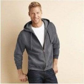 HeavyBlend Vintage Classic Full Zip Hooded Sweatshirt