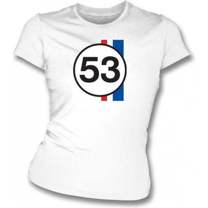 Herbie 53 Womens Slim Fit T-Shirt