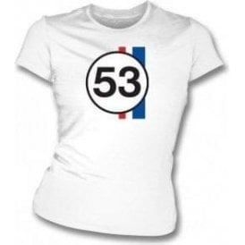 Herbie 53 Womens Slim Fit T-Shirt