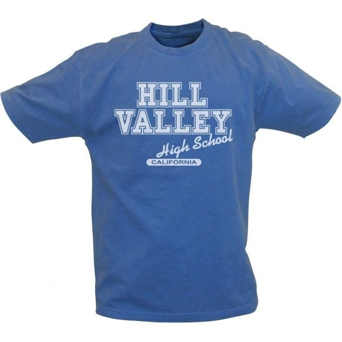 Hill Valley High School Vintage Wash T-Shirt