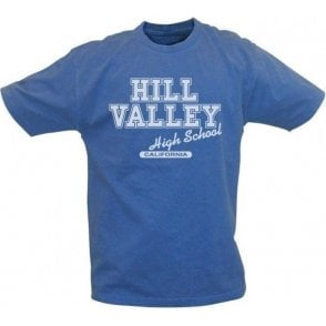 Hill Valley High School Vintage Wash T-Shirt