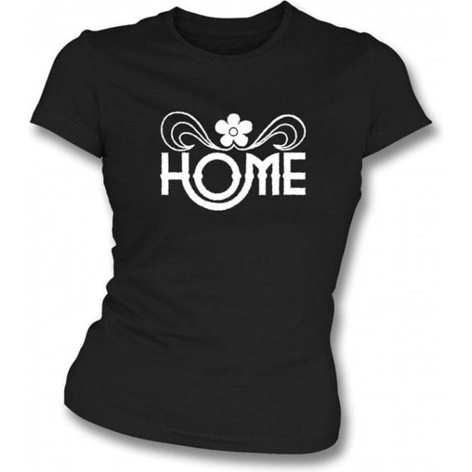 Home (As Worn By John Lennon, The Beatles) Womens Slim Fit T-Shirt