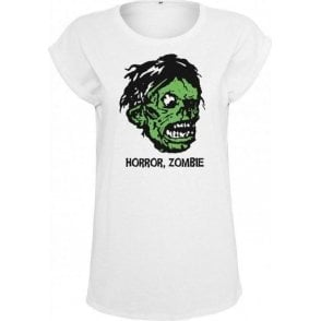 Horror, Zombie (As Worn By Kirk Hammett, Metallica) Womens Extended Shoulder T-Shirt