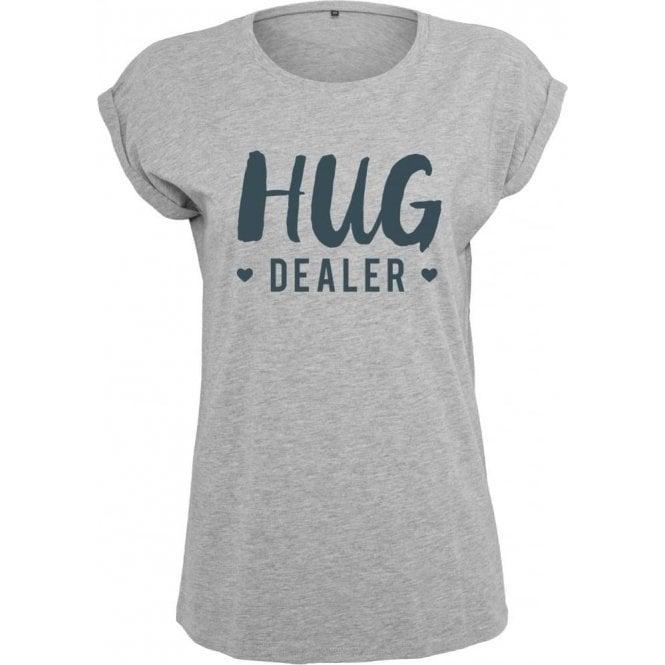 Hug Dealer Womens Extended Shoulder T-Shirt