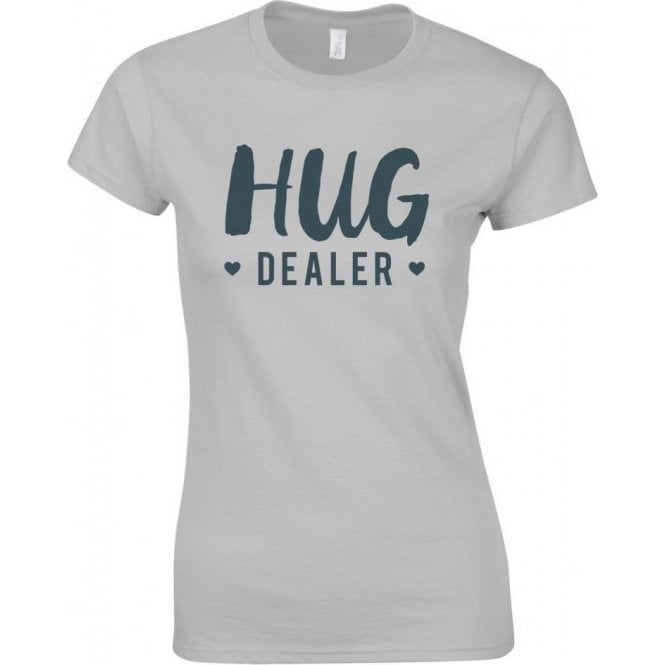 Hug Dealer Womens Slim Fit T-Shirt