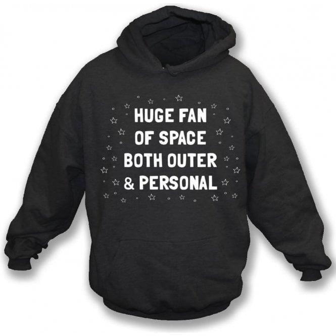Huge Fan Of Space Kids Hooded Sweatshirt