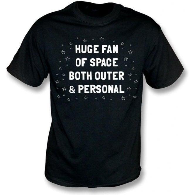 Huge Fan Of Space Kids T-Shirt