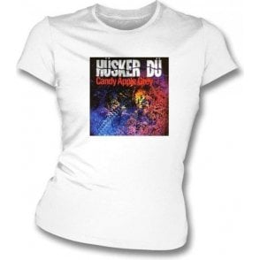 Husker Du Candy Apple Women's Slimfit T-shirt
