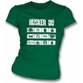 Husker Du Everything Falls Apart Girl's Slim-Fit T-shirt