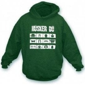 Husker Du Everything Falls Apart Hooded Sweatshirt