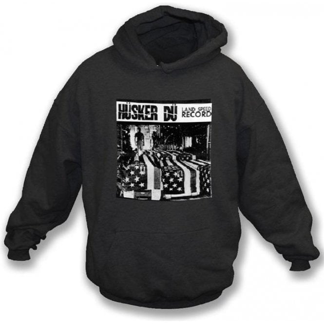 Husker Du Land Speed Record Hooded Sweatshirt