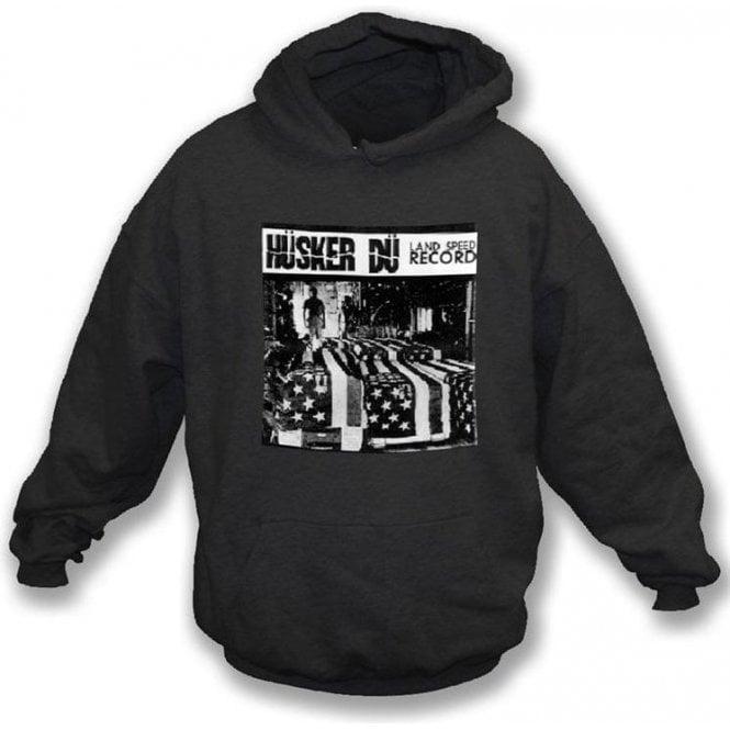 Husker Du Land Speed Record Hooded Sweatshirt