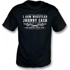 I Arm Wrestled Johnny Cash Children's T-shirt