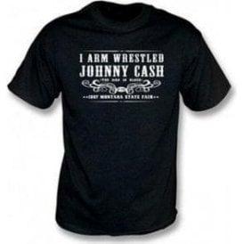 I Arm Wrestled Johnny Cash Children's T-shirt