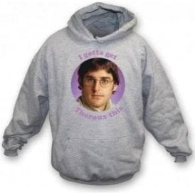 I Gotta Get Theroux This Kids Hooded Sweatshirt