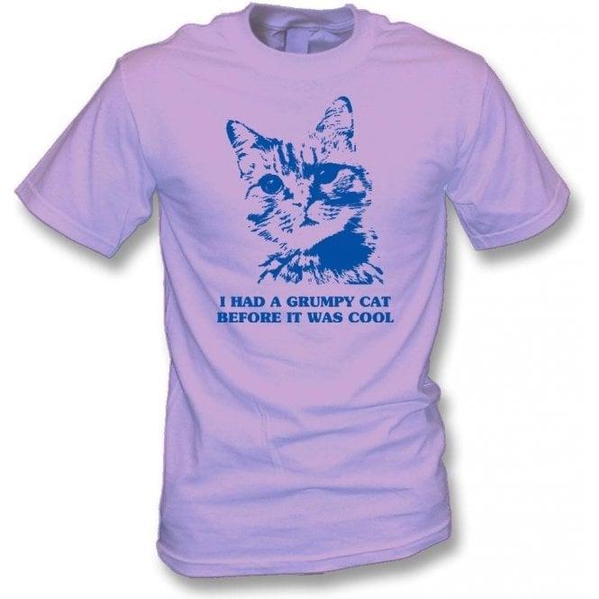 I Had A Grumpy Cat Before It Was Cool T-Shirt