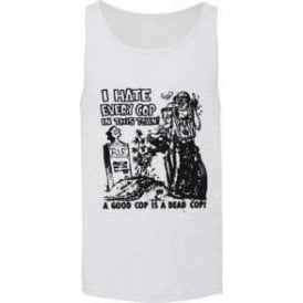 I Hate Every Cop In This Town (As Worn By Nick Cave, The Bad Seeds) Men's Tank Top