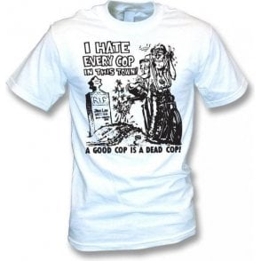 I Hate Every Cop In This Town (As Worn By Nick Cave, The Bad Seeds) T-Shirt