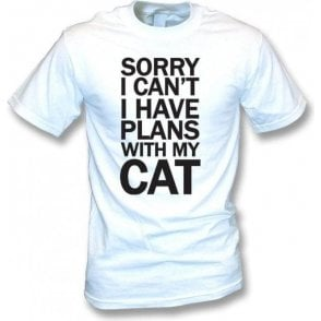 I Have Plans With My Cat T-Shirt