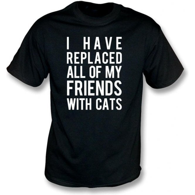 I Have Replaced All Of My Friends With Cats Kids T-Shirt