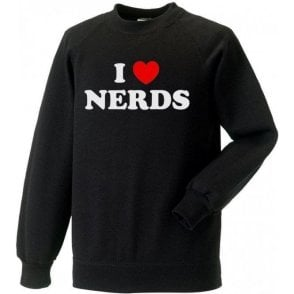I Heart Nerds (As Worn By Shirley Manson, Garbage) Kids Sweatshirt