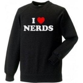 I Heart Nerds (As Worn By Shirley Manson, Garbage) Sweatshirt