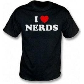 I Heart Nerds (As Worn By Shirley Manson, Garbage) T-Shirt