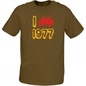 I Love 1977 T-shirt