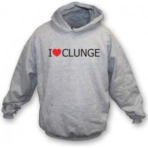 I Love Clunge (The Inbetweeners) Hooded Sweatshirt