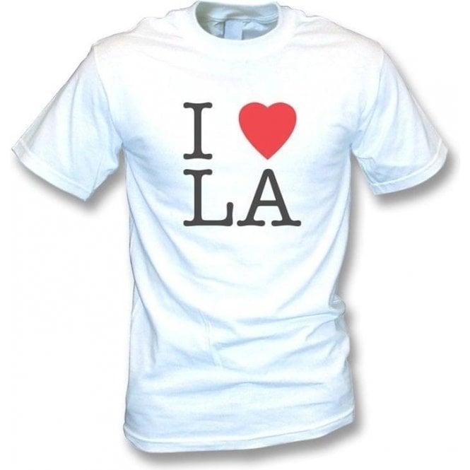 I Love LA Vintage Wash T-shirt