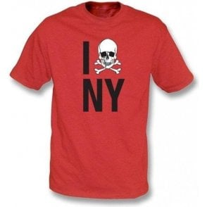 I Love New York Skull T-shirt