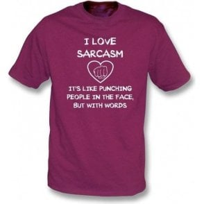 I Love Sarcasm T-Shirt