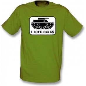 I Love Tanks T-shirt