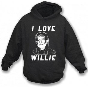 I Love Willie Hooded Sweatshirt