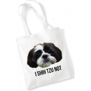 I Shih Tzu Not Long Handled Tote Bag