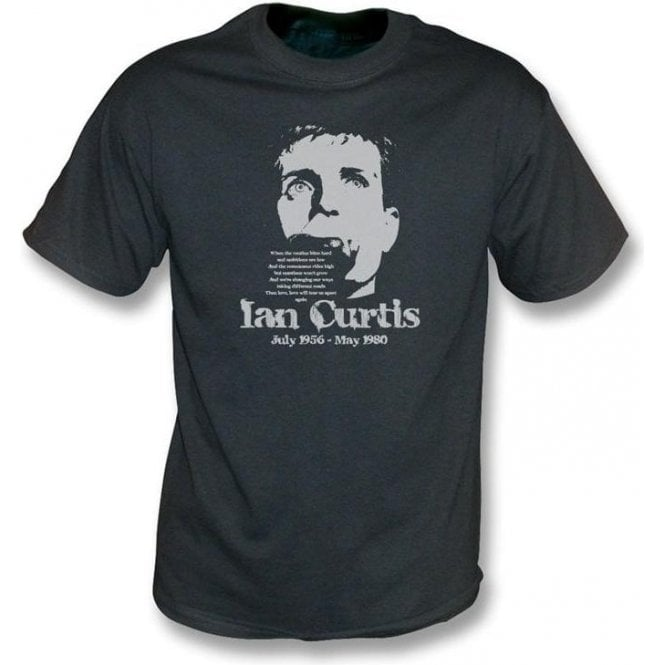 Ian Curtis - Tribute vintage wash t-shirt