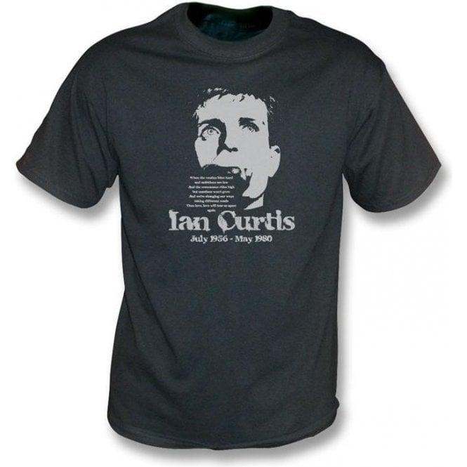 Ian Curtis - Tribute vintage wash t-shirt