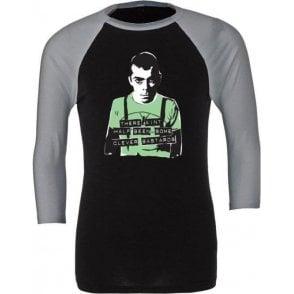Ian Dury - Clever Bastards 3/4 Sleeve Unisex Baseball Top