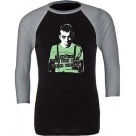 Ian Dury - Clever Bastards 3/4 Sleeve Unisex Baseball Top