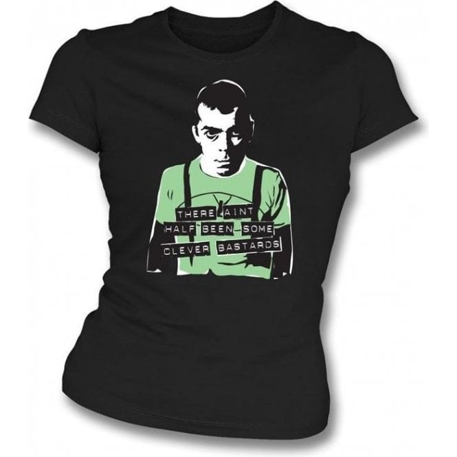 Ian Dury - Clever Bastards Girl's Slim-Fit T-shirt
