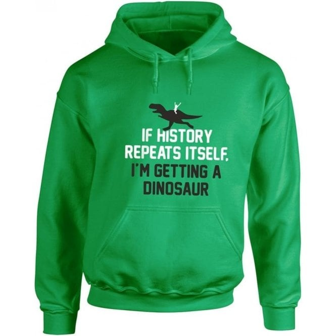 If History Repeats Itself... Kids Hooded Sweatshirt