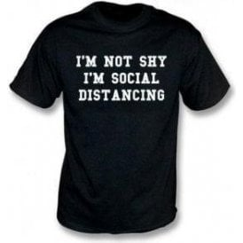 I'm Not Shy, I'm Socially Distancing Kids T-Shirt
