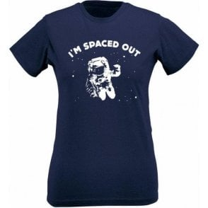 I'm Spaced Out Womens Slim Fit T-Shirt