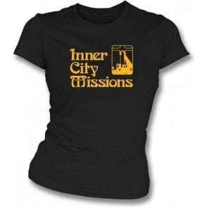 Inner City Missions (As Worn By Kurt Cobain, Nirvana) Womens Slim Fit T-Shirt