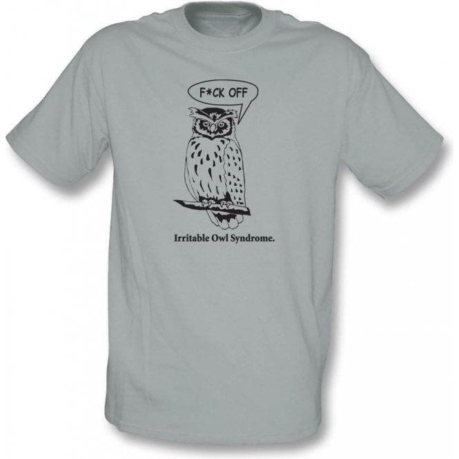 Irritable Owl Syndrome Organic T-Shirt