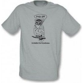 Irritable Owl Syndrome Organic T-Shirt