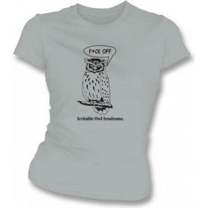 Irritable Owl Syndrome Organic Women's T-shirt